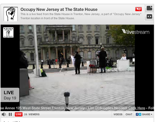 Occupy Trenton Screenshot 2011-10-24