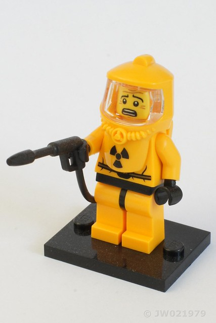 Lego HASMAT Minifigure
