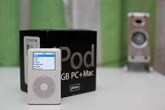 Happy 10th Birthday, iPod! (iamvanja) Tags: 50mm ipod happybirthday ipodphoto colorscreen 4thgenerationipod ipodphoto30gb