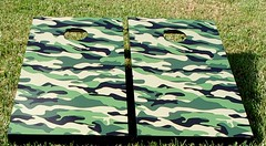Camouflage Cornhole Boards V1