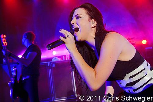Evanescence - 10-24-11 - Royal Oak Music Theatre, Royal Oak, MI