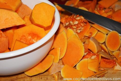 Pudin de Calabaza. www.cocinandoentreolivos (2)