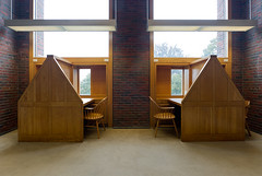 library at Phillips Exeter Academy, Exeter, NH (Xavier de Jaurguiberry) Tags: usa architecture university unitedstates library universit newhampshire architect exeter bibliothque louiskahn architecte phillipsexeteracademy etatsunis louisikahn louisisadorekahn