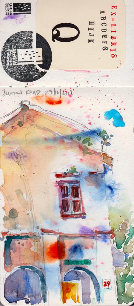 Duxton Sketchwalk 29-10-2011