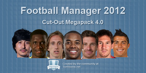 Football manager 2012 Exclusive Logo and Cut-Out Faces Megapack