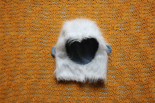 Spare Yeti Hat for Halloween