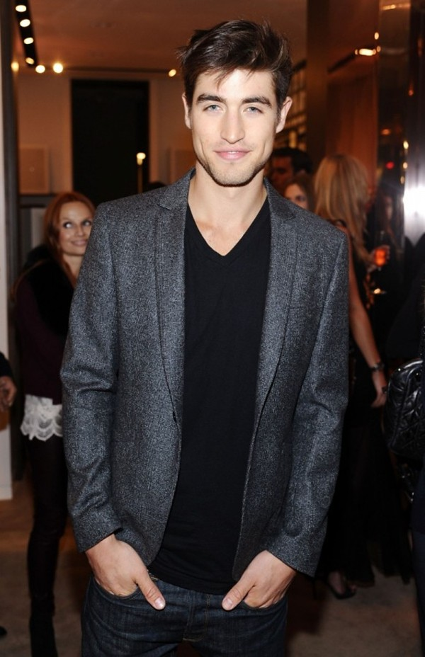 9d Ben Elliott in Burberry at the Burberry Body event in LA