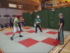 UCD TKD vs Lau Gar - UCD Sports Centre (October 2011) (irlLordy) Tags: ireland dublin club video october spar tkd ucd kickboxing sportscentre laugar 2011