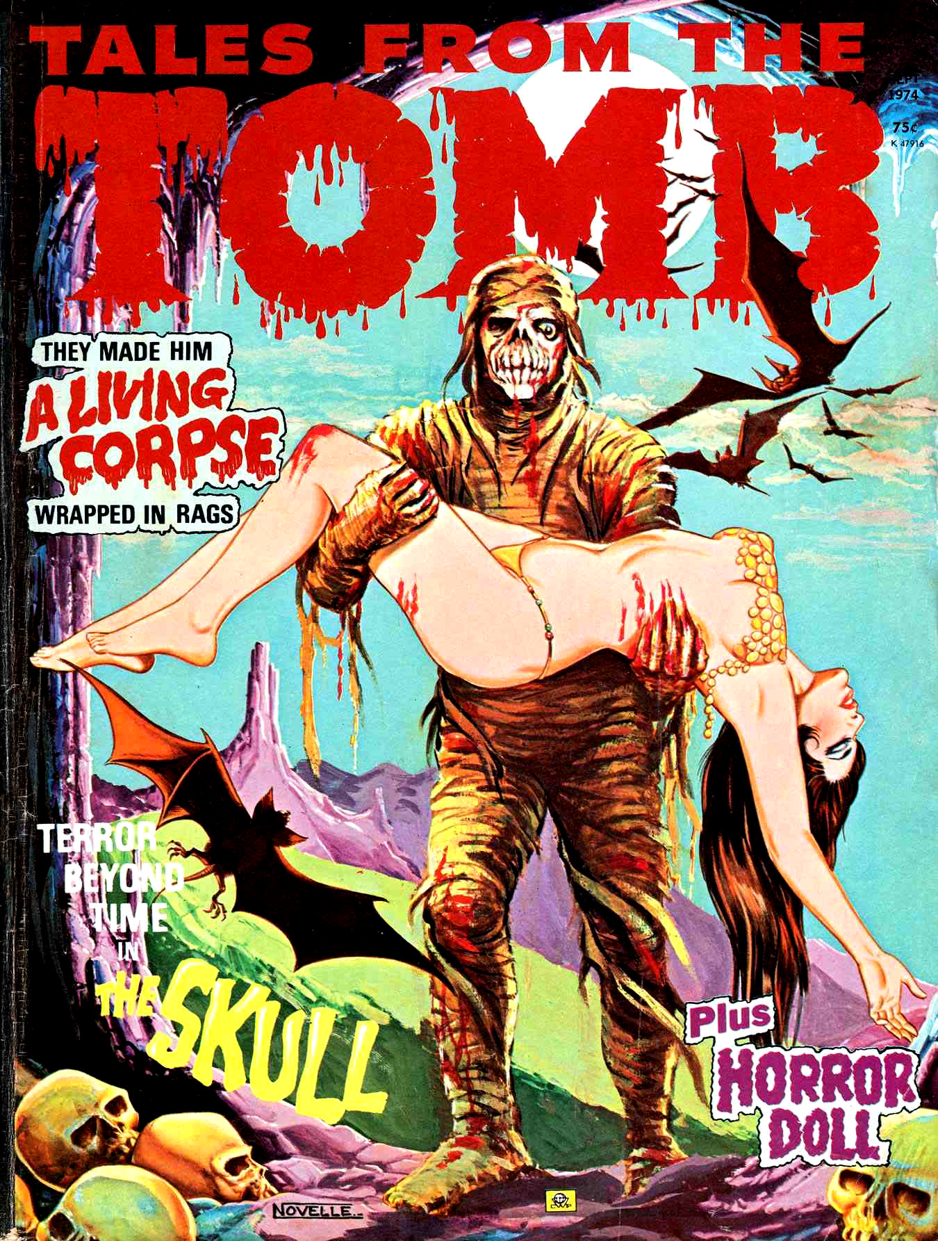 Tales from the Tomb - Vol. 6 #5 (Eerie Publications, 1974)