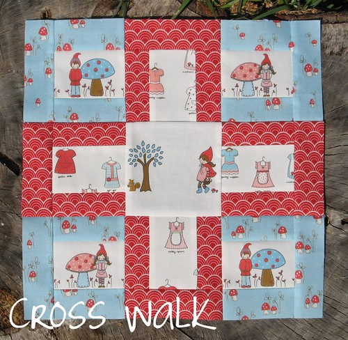 Modern Blocks Book - Cross Walk