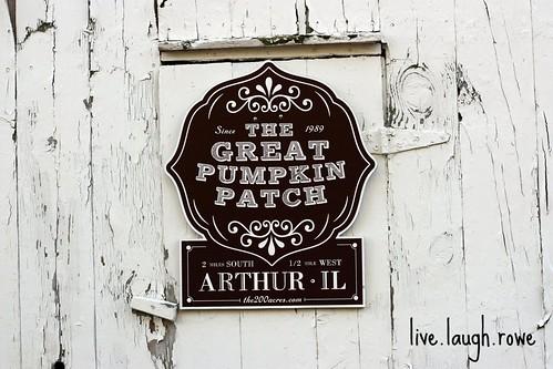 The Great Pumpkin Patch logo
