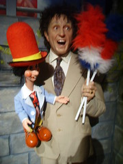 Ken Dodd (richiiebam) Tags: madame statue naughty puppet feather ken lancashire merlin figure comedian celeb blackpool tussauds swearing presenter waxwork dodd dusters