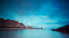 Kalbuh Beach (The T-Man) Tags: ocean longexposure sea beach water filter nd oman muscat kalbu thechallengefactory kalbuh