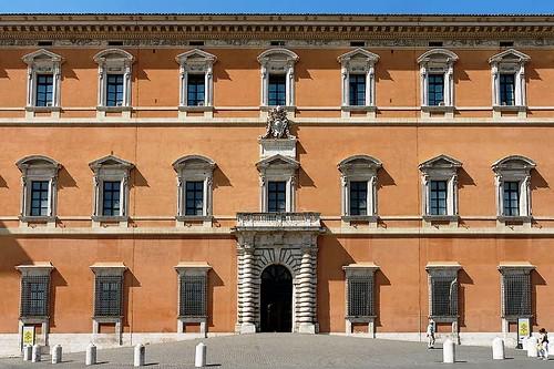 Fachada del palacio Laterano