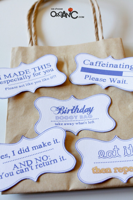 DIY: Cake Bunting, Glittered Candle Jars and sweet simple Doggy Bags
