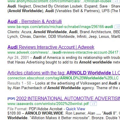 audisearch
