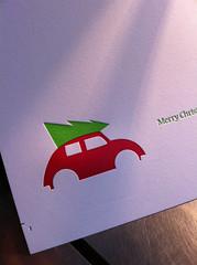 Letterpress Holiday Card Production Photos