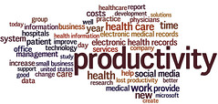 Productivity in healthcare