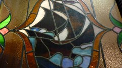 Nobles Bar Stained Glass