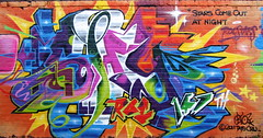 Shy147 (tatscruinc) Tags: streetart brooklyn roc graffiti bio cern greenpoint daze nicer tatscru bg183 totem2 rocstars themuralkings shy147