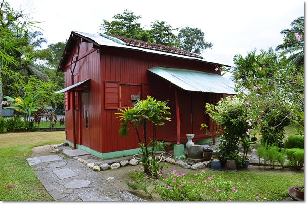 Red Japanese House