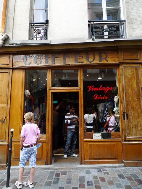 coiffeur vintage paris