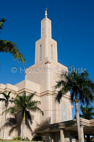 Santo Domingo Dominican Republic Vintage LDS Temple Prints -5685