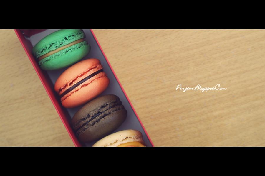 Macaroons @ Levain Boulangerie & Patisserie