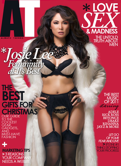 Covergirl: Josie Lee - AT Magazine Cover Dec. 2011