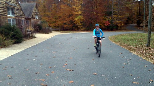 Biking November 13 rachel finish