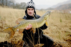 I catch (Nicolas Valentin) Tags: scotland fishing pike lochlomond ecosse daiwa kayakfishing lurefishing kayakscotland