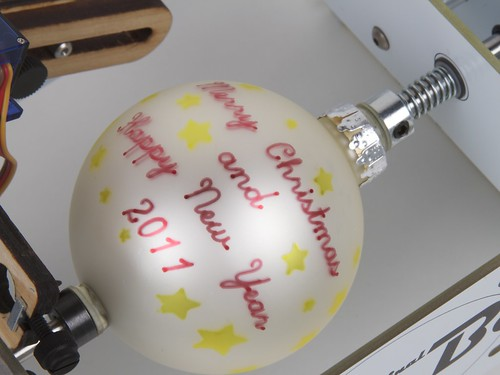 Ornament with Stars in Eggbot