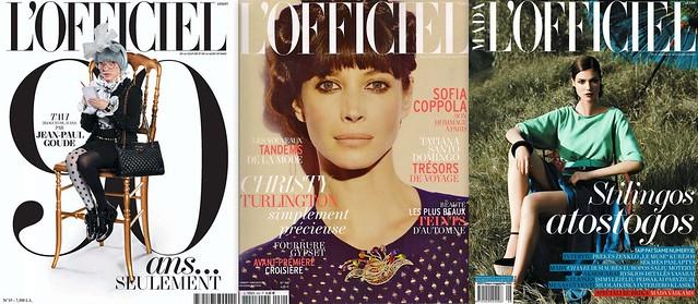 Самый первый модный журнал