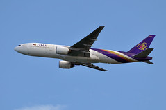 Thai Airways Boeing 777-2D7 HS-TJA Lamphun (EK056) Tags: thai boeing airways lamphun hstja 7772d7