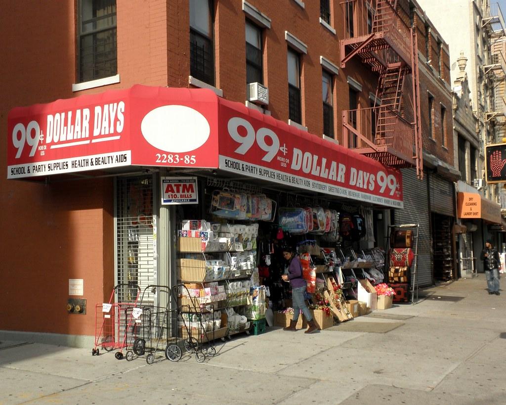 99 Cent Dollar Days Store East Harlem New York City Jag9889 Tags