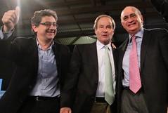 Enric Millo, Jose Ignacio Llorens y Jorge Fernández