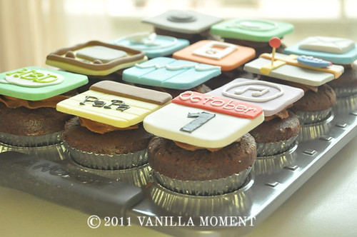 iPhone / iPad cupcakes