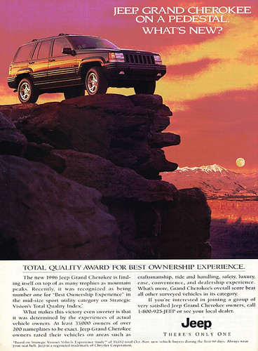 Classic Jeep Quality Advertisement by lee.ekstrom