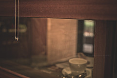 277.365 - Another Cafe' Story (Charles Wonderland*) Tags: life reflection coffee 35mm canon cafe kitty story memory moment canonef35mmf14lusm 60d