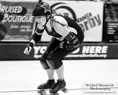 _70Z8892-Edit (Wicked Shamrock Photography) Tags: rollerderby broomfield gothamcity suzyhotrod wftda olyrollers 1stbankcenter continentaldivideandconquer
