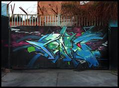 Tone Liverpool (TEAONE 9N069T) Tags: wall clouds liverpool graffiti sketch northwest tea character cartoon outline tone nsa teaone 9no69t