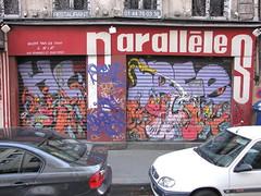 by Horf (tofz4u) Tags: streetart paris graffiti tag 75001 artderue horfe horphe