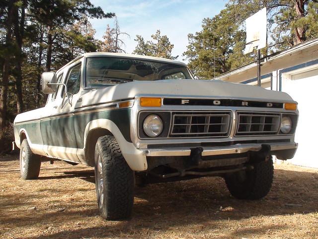 ford truck ranger 4x4 cab crew 1977 77 f250