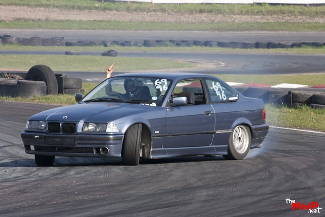 Matt Stevenson Drifting his BMW E36