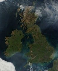 ireland space nasa greatbritian cloudfree satelliteviewofearth