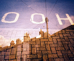 ooh (captainbonobo) Tags: 35mm lomo xpro brighton fuji doubleexposure olympus xa2 collaboration astia filmswap