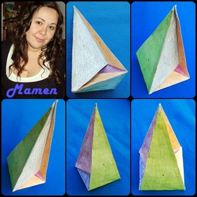 Nueva imagen del poliedro de Császár: Nadym