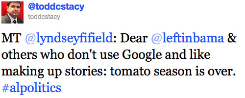 Todd Stacy Tomato Tweet