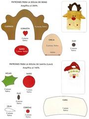 molde sacola rena /noel (Dona Bia) Tags: christmas natal bag navidad felt feltro bolsa rena sacola fieltro christmasbags