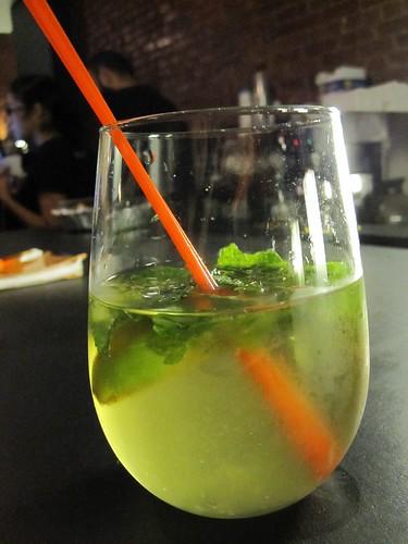 The V Spot - Sake Mojito